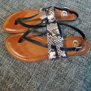 7edfe9f85 Women Gianni Bini Flat Sandals on Poshmark